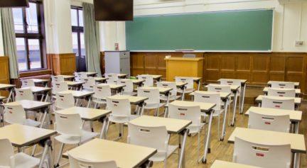 一号館の教室